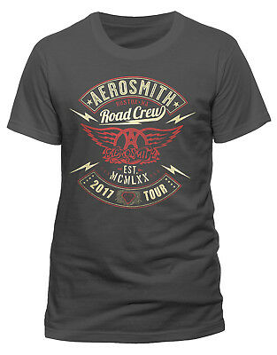 Aerosmith 'Road Crew' T-Shirt - NEW & OFFICIAL!