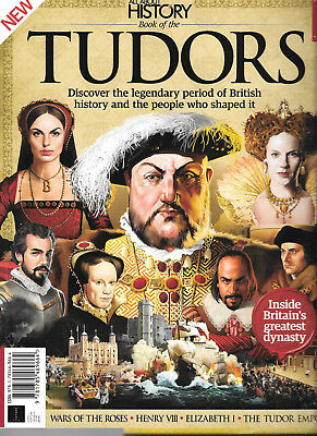 All About History # Book Of The Tudors # Henry Viii Elizabeth I War Of The Roses