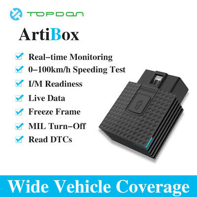 TOPDON Artibox Bluetooth Professional OBDII Scan Diagnostic  for iPhone Android