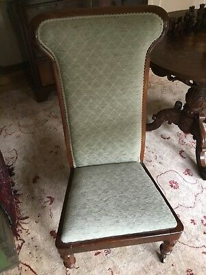 Small Rose Wood Nursing Chair