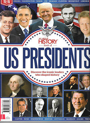 All About History  Book of US PRESIDENTS 3rd Edition # JFK NIXON OBAMA TRUMP ETC