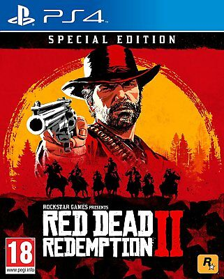 Red Dead Redemption 2 Special Edition (Pre Order PS4)