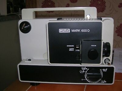 EUMIG PROJECTOR 600 D standard super single very good condition still in pack