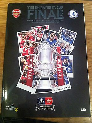 The Emirates FA Cup Final 2017 - Arsenal v Chelsea - Wembley - Programme - NEW
