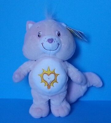 """BRIGHT HEART RACCOON Care Bear Cousins 8"""" Plush 2004 Collectors Edition NWT NEW"""