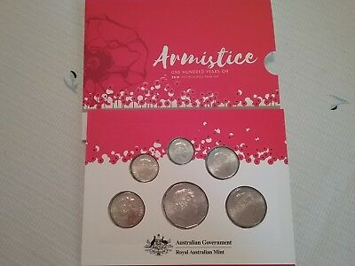Royal Australian Mint Armistice Coin Set