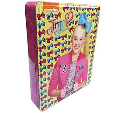 JoJo Siwa Keepsake Activity Bow Tin from Nickelodeon. Kids Books Children's Gift