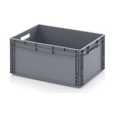 Euro Containers 60x40x27 12.32gal. Stacking Storage Box Eurobox Stackable
