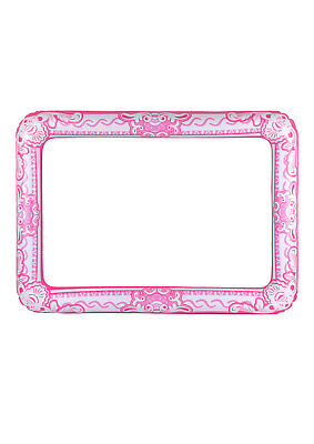 PINK GIANT INFLATABLE PHOTO FRAME Selfie Booth Props Blow Up Hen Party