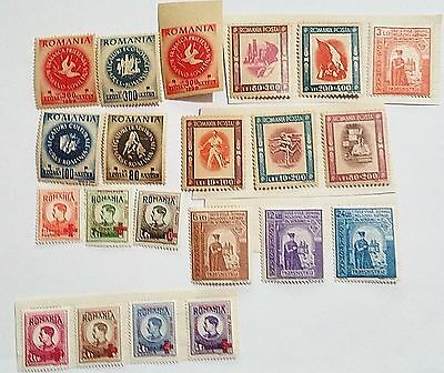 Romania Mint/lh,h Mounted Stamps Scu543Xp Worldwide Stamps