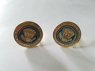 Seal of the President of the United States Cuff Links - GEORGE W BUSH