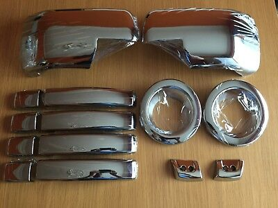 Chrome Set For Range Rover Sport 2005-2009 Handles Fog Full Wing Mirror Covers