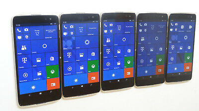 Lot of 5 Alcatel OneTouch IDOL 4S OT-6071W T-Mobile Unlocked Smartphones AS-IS