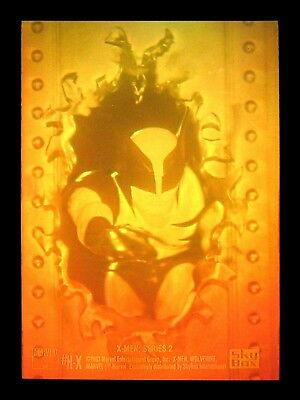 Original 1993 - Skybox - Wolverine Hologram Card - H-X - Marvel X-Men - Series 2