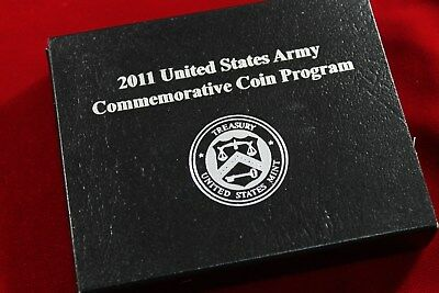 2011 United States Army   Uncirculated Silver Dollar Mint Package,   No Coin,