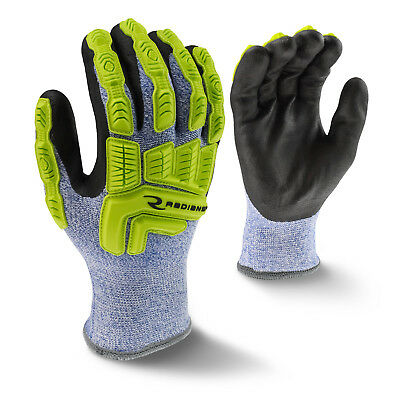 Radians RWG604 Insulated ANSI A4 Cut Resistant Glove, Impact Protection, M-2XL