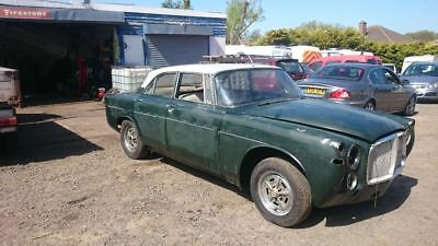 Rover p5 coupe 1969 unfinished project