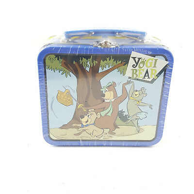 New Sealed 1999 Limited Edition Yogi Bear Mini Tin Lunch Box with Candy Inside