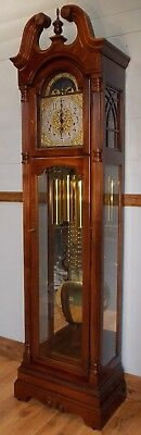 Grandfather Clock -Exc Con/Hermle Wchime/HMILLER/NATIONWIDE PERSONAL DELIVERIES