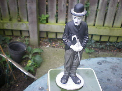 Charley Chaplin Statue  Height 9 Ins