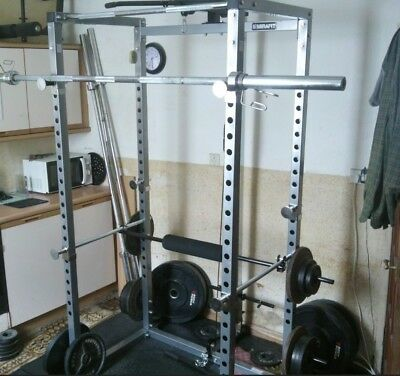 Mirafit M1 250kg Power Rack With Lat Attachment