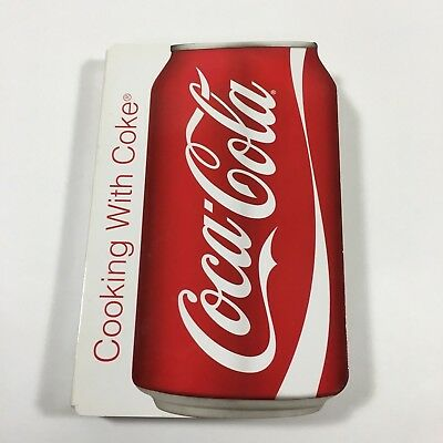 Coca-Cola Cooking With Coke Cook Book Hard Cardboard 46 Pages Red & White