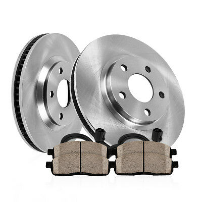 Front Brake Rotors and Ceramic Pads Kit 2004 2005 MERCEDES BENZ E500 4Matic AWD