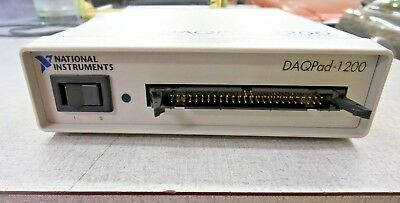 National Instruments DAQPad-1200 Daten Erfassung & Kontrolle für Parallel Port