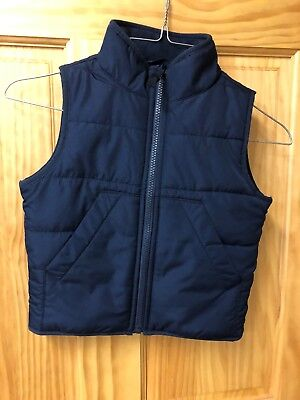 Toddler Boy Navy Vest Size XS4 Place