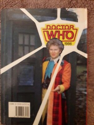 DR Who Annual 1986