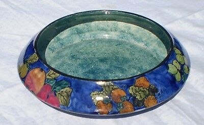 Hancock & Sons 'titian' Ware Bowl Handpainted By F X Abraham