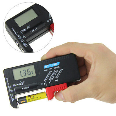 Effective Home Use Battery Tester Compact Small Plastic Quickly Digital Display
