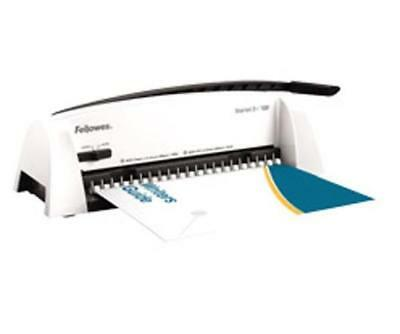 Fellowes Starlet 2plus Comb Binder Manual 12 Sheet Punch 120 Sheet Bind