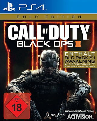 Call of Duty: Black Ops III - Gold Edition - PS4 - NEU und OVP