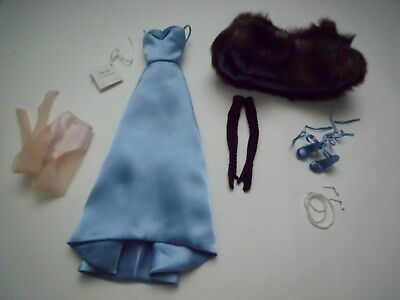 """2001 Gene Marshall Doll Collection """"Blue Fox"""" OUTFIT ONLY.  Mint Condition"""
