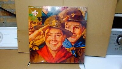 Norman Rockwell Boy Scouts Of America 540 Pcs Puzzle 18X24V New In Box Vintage