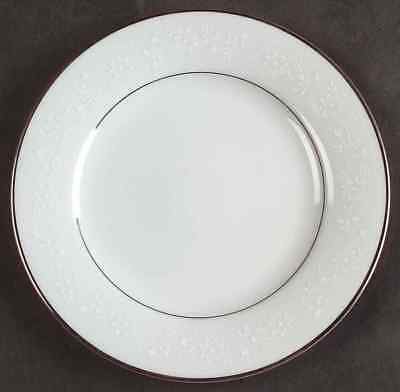Noritake Buckingham Platinum 6438  Dinner Plates Three (3)