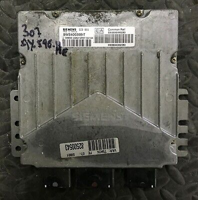 Calculateur PEUGEOT 307 HDI SID 801 5WS40030B-T SW9646449280 HW9644302380