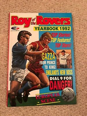 Roy of the Rovers Yearbook 1992