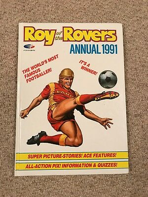 Roy of the Rovers Yearbook 1991