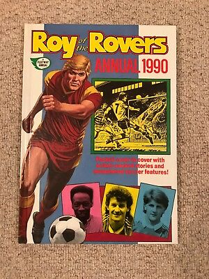 Roy of the Rovers Yearbook 1990