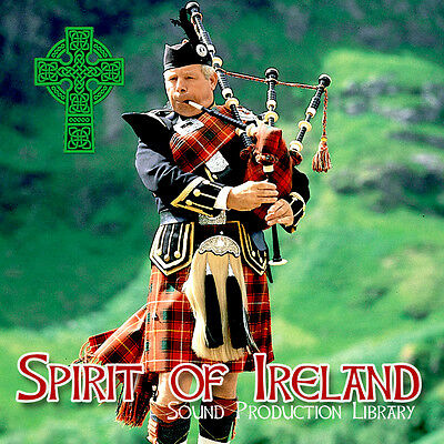 IRELAND SPIRIT - unique 24bit WAVE Multi-Layer Samples Production Library on DVD