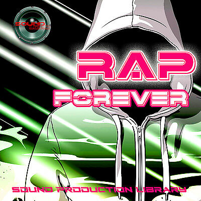 RAP FOREVER - unique HUGE 24bit WAVE Multi-Layer Studio Samples Library in CD