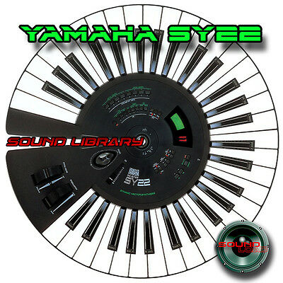YAMAHA SY22 HUGE Original Factory & New Created Sound Library/Editors on CD