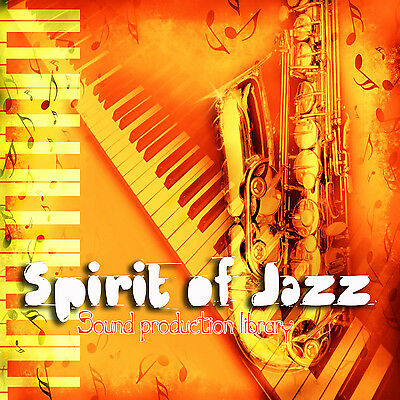 jazz. SPIRIT OF JAZZ - HUGE PRODUCTION SOUND LIBRARY 1.5GB on DVD