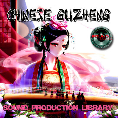 CHINESE GUZHENG - UNIQUE Perfect WAVE/NKI Multi-Layer Samples Library on DVD