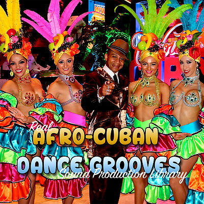 AFRO-CUBAN GROOVES - Original Studio WAVE/Kontakt Samples Production Library DVD