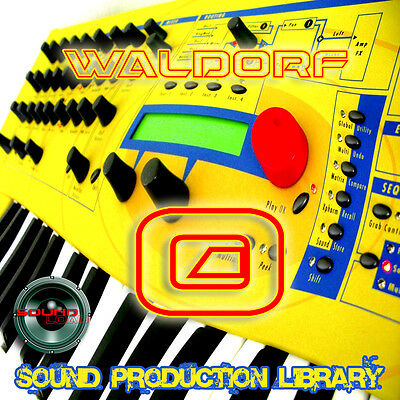 WALDOR Q - HUGE Original Multi-Layer WAV/KONTAKT Production Sound Library on DVD