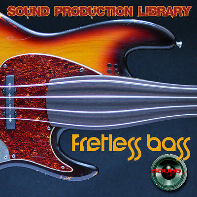 Fretless Bass Real HUGE Original Multi-Layer Studio Samples Library on DVD