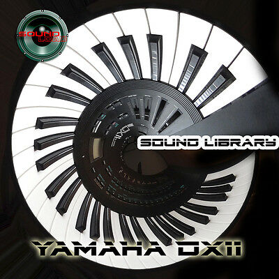 YAMAHA DX11 HUGE Original Factory & New Created Sound Library/Editors on CD
